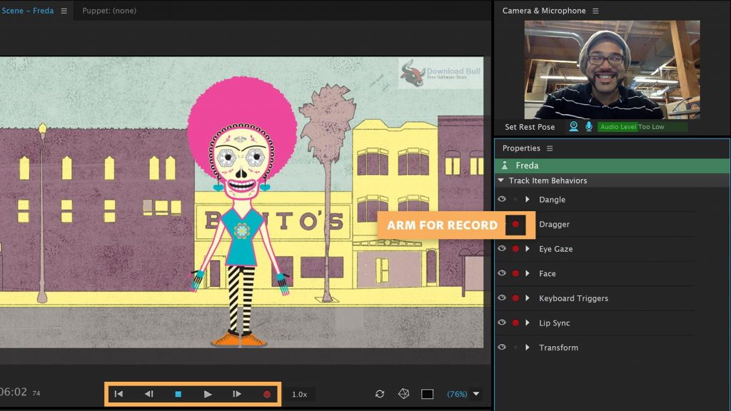 Portable Adobe Character Animator CC 2019 v2.1.1 Download