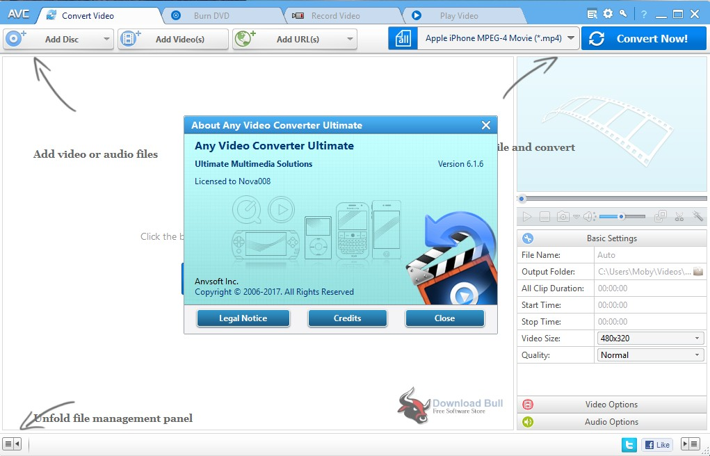 Portable Any Video Converter Ultimate 6.3 Free Download