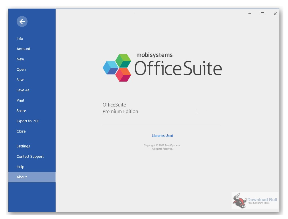 Portable MobiSystems OfficeSuite 3.20
