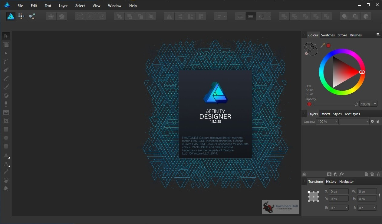 Portable Serif Affinity Designer 1.7 Free Download