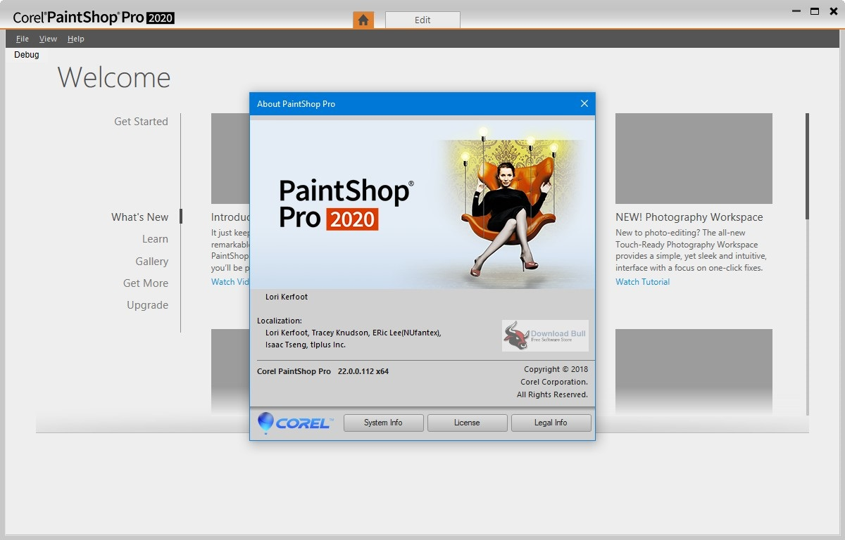 Portable Corel PaintShop Pro 2020 v22.0