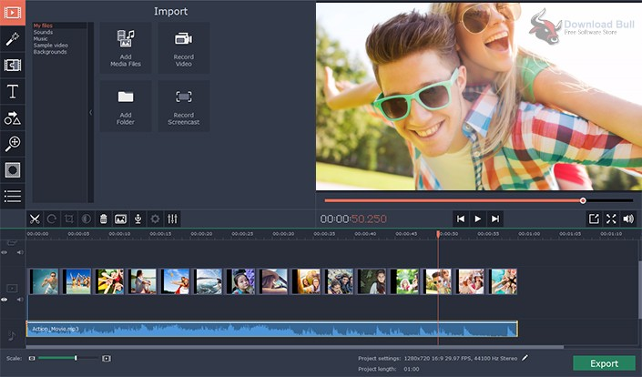 Portable Movavi Video Editor Business 15.5 Free Download