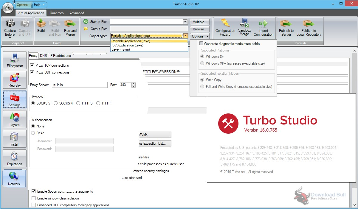 Portable Turbo Studio 19.3 Free Download