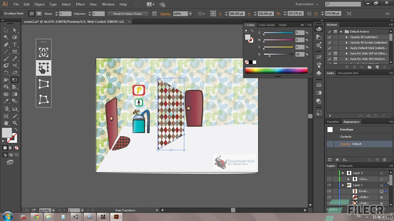 Portable Adobe Illustrator CC 2019 v23.0.5 Free Download