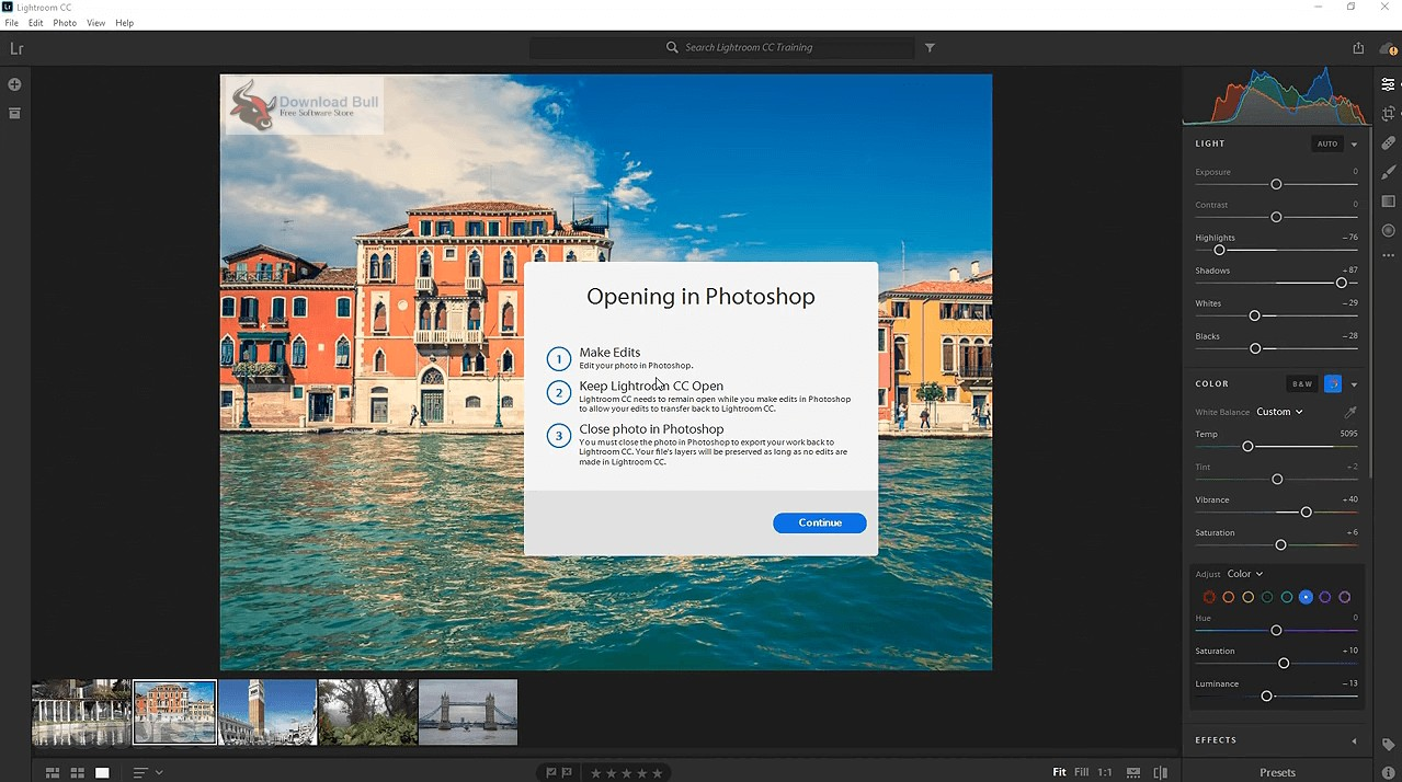 Portable Adobe Photoshop Lightroom Classic CC 2019 8.4 Free Download