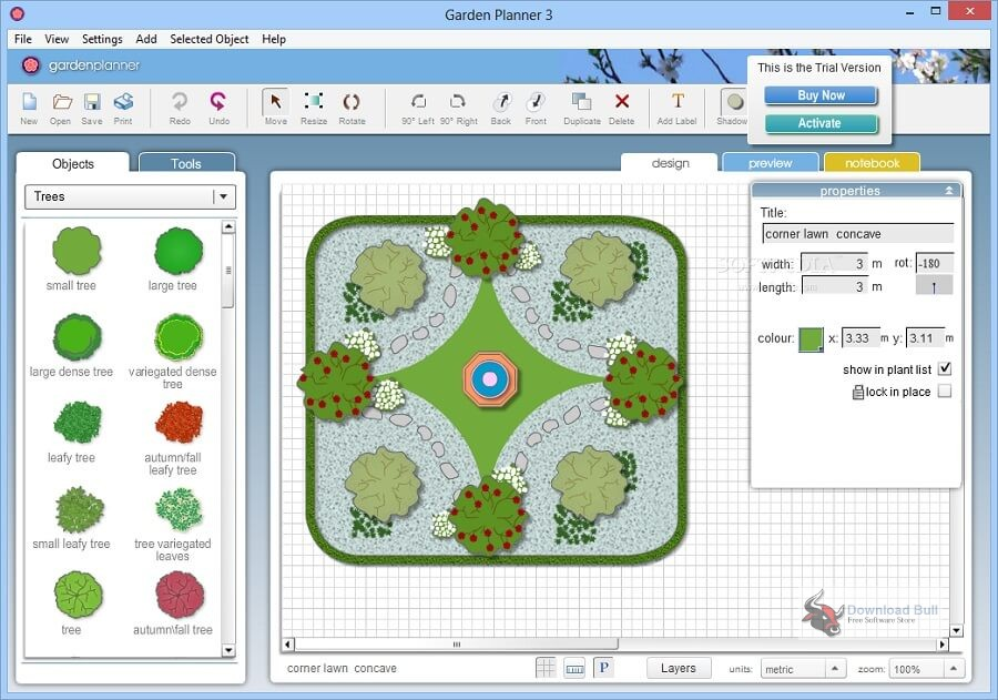 Portable Artifact Interactive Garden Planner 3.7