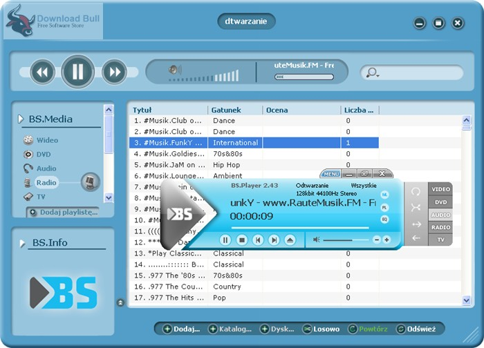 Portable BS.Player PRO 2.7 Free Download