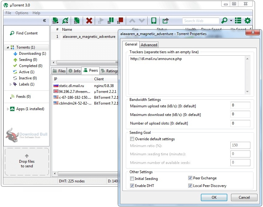 Portable BitTorrent 7.1