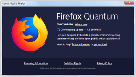 Updating Firefox to the Latest Version