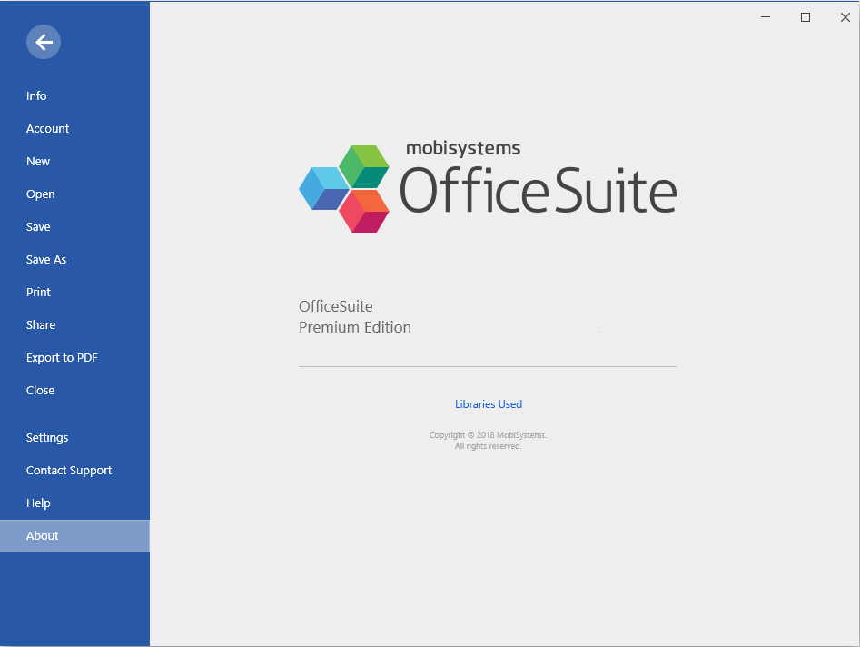 MobiSystems OfficeSuite Premium Edition 3.5 Download