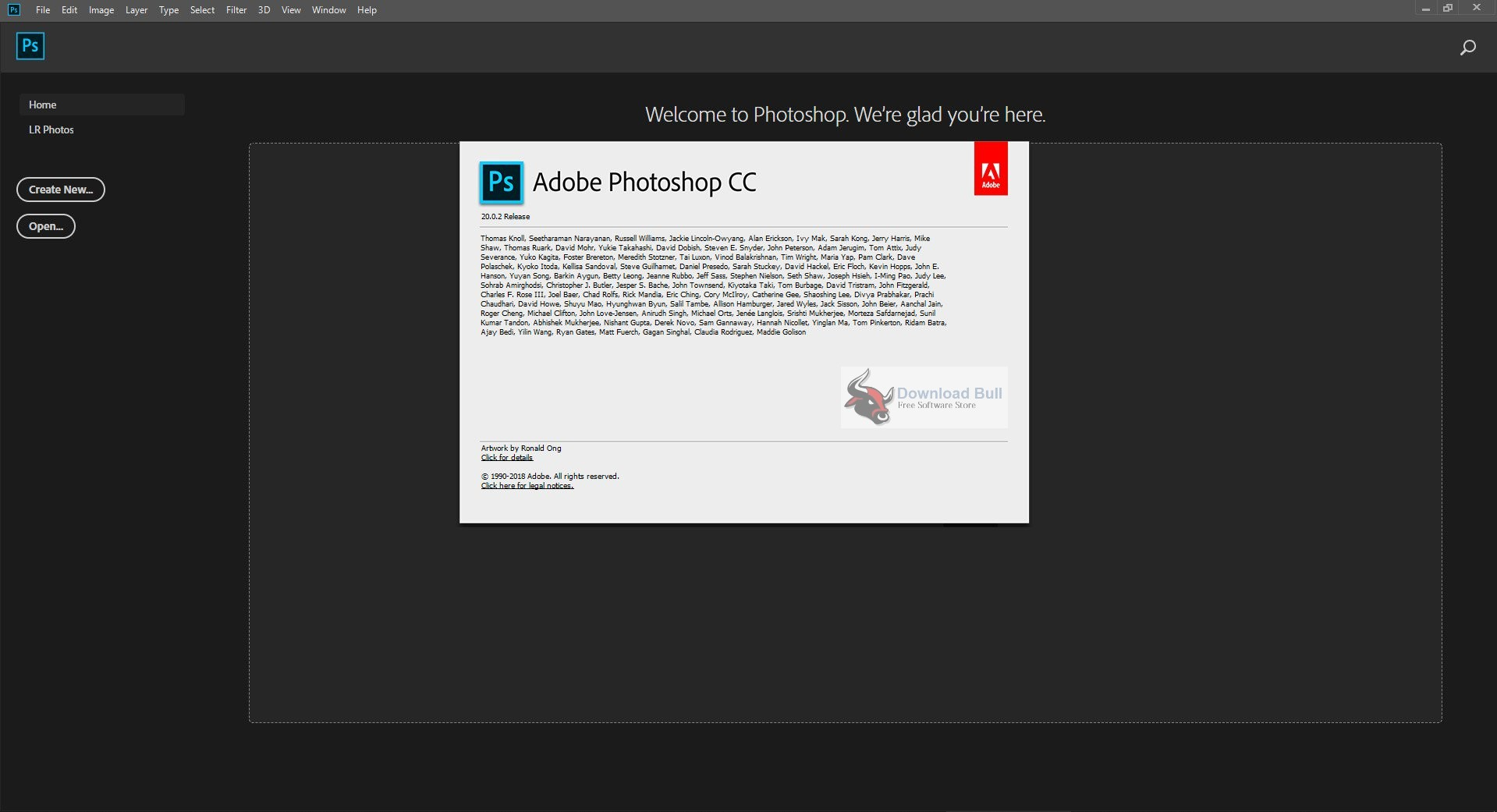 Portable Adobe Photoshop CC 2019 v20.0.6 Download