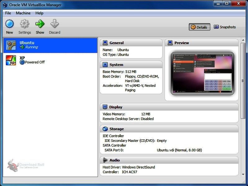 Portable Oracle VM VirtualBox 6.0