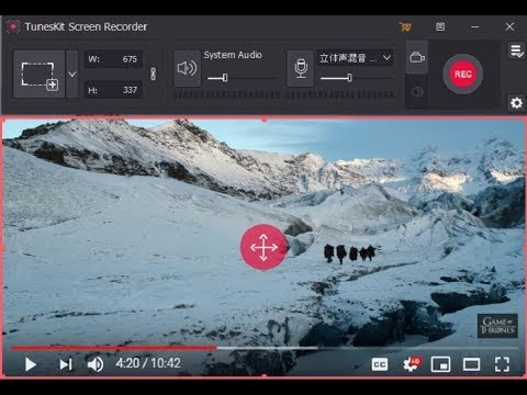 Portable TunesKit Screen Recorder 1.0.1