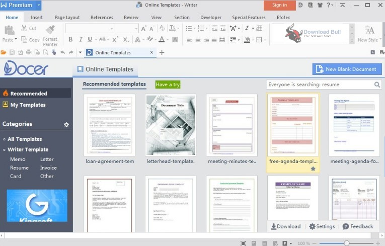 Portable WPS Office Free 11.2 Download