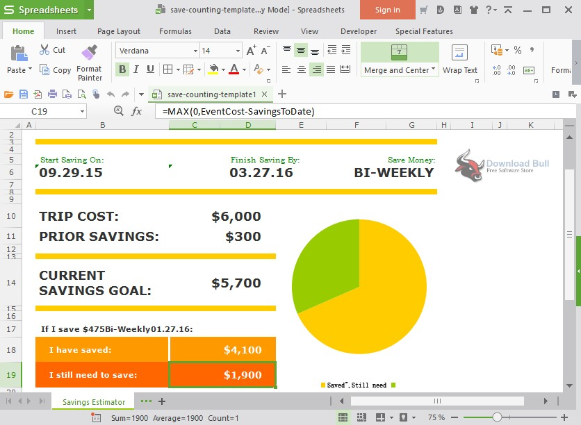 Portable WPS Office Free 11.2