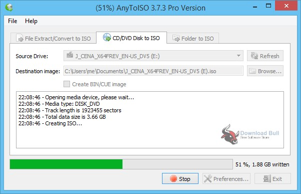 Portable AnyToISO 3.9 Free Download