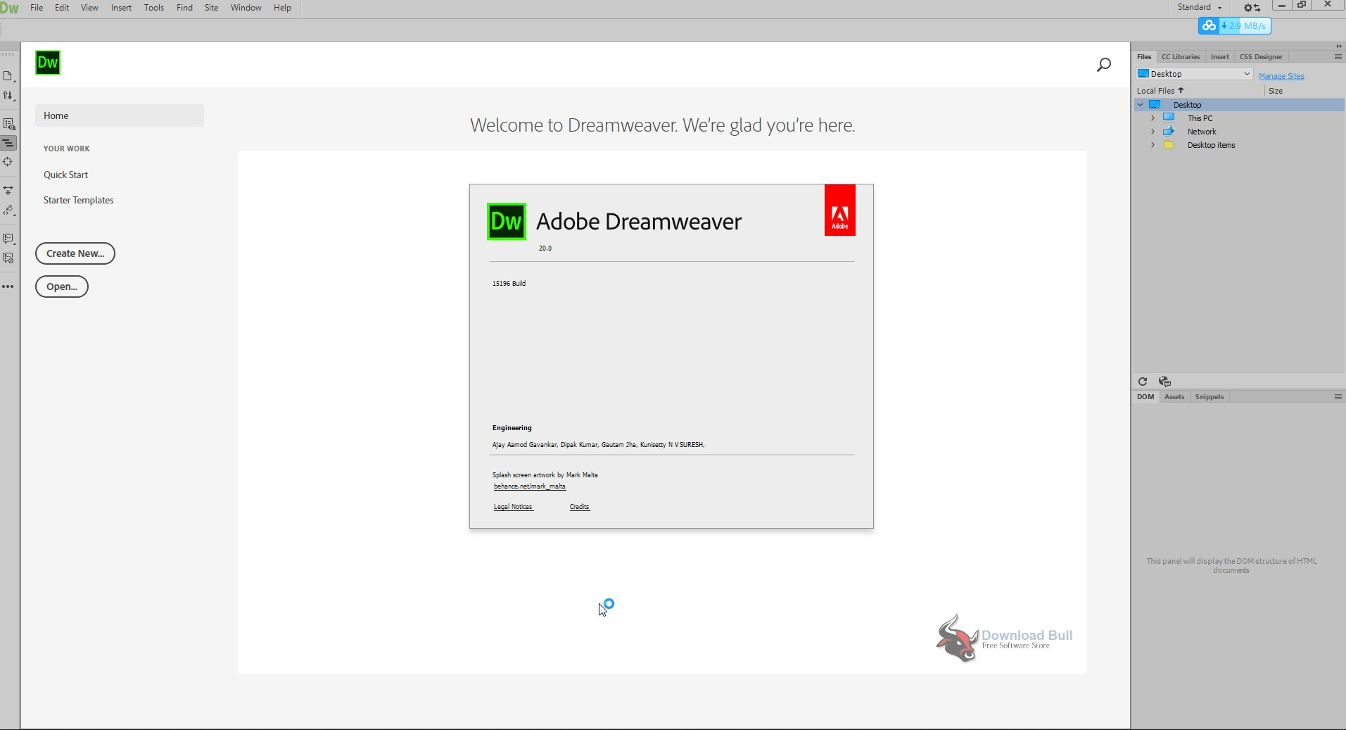 Portable Adobe Dreamweaver Cc 2020 V20 0 Free Download