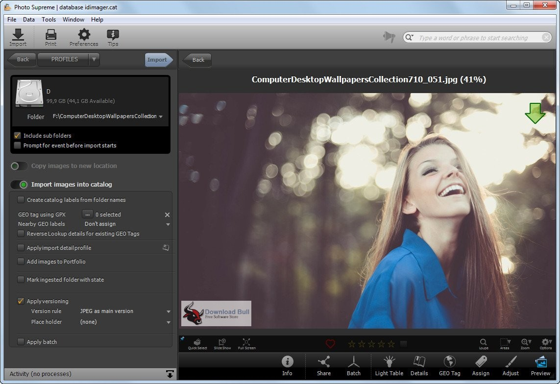 Portable IDimager Photo Supreme 4.3 Free Download