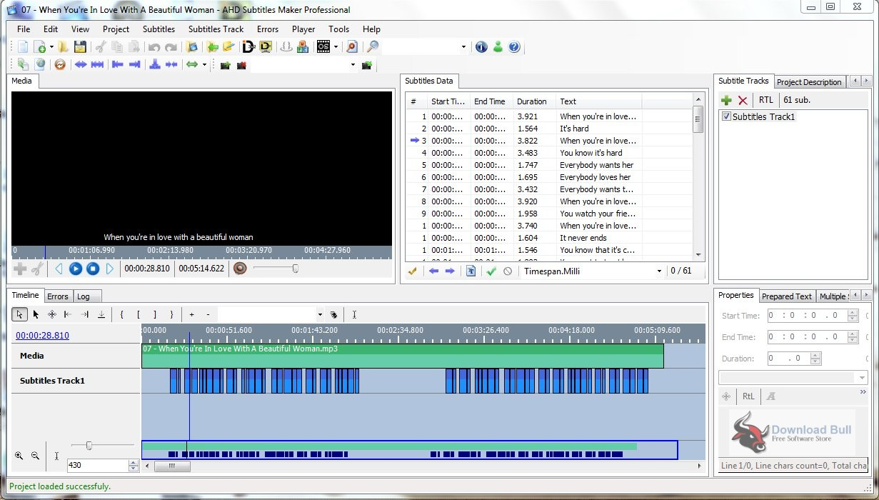 Portable AHD Subtitles Maker Professional Edition 5.2