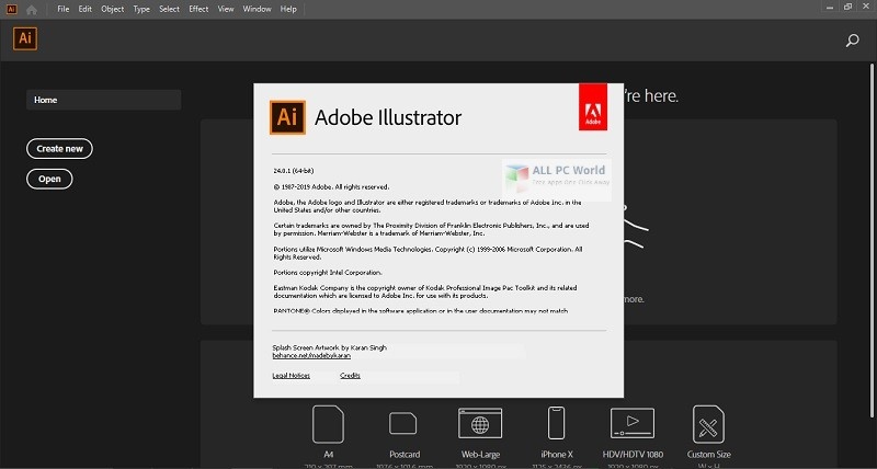 Portable Adobe Illustrator 2020 v24.0.1