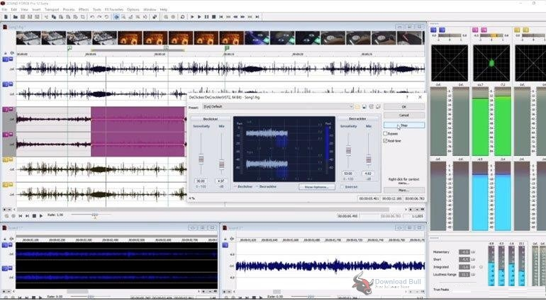 Portable MAGIX SOUND FORGE Pro 13.0 Free Download