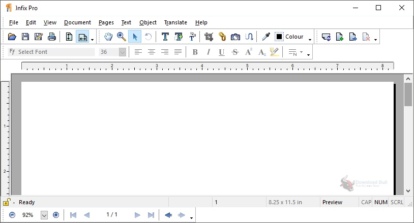 Portable Infix PDF Editor Pro 7.5 for Windows 10