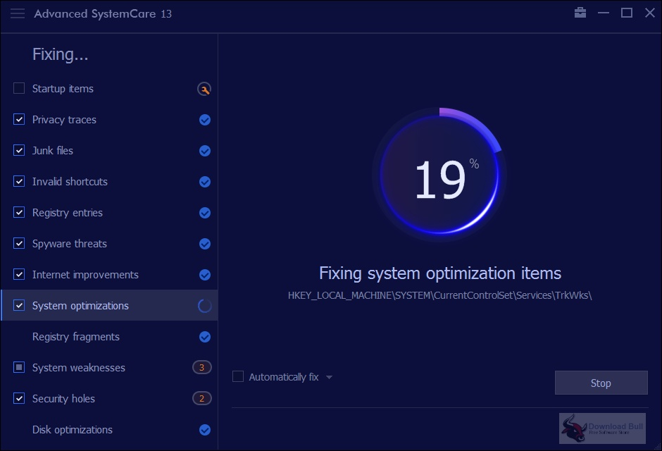 Portable Advanced SystemCare Pro 13.5 for Windows 10