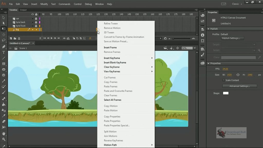 Portable Adobe Animate CC 2020 v20.5