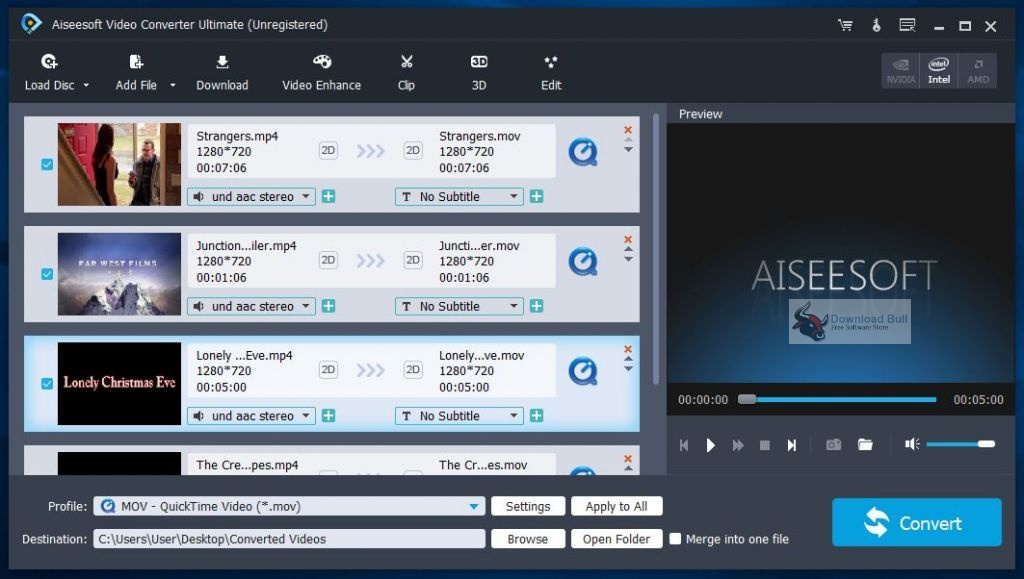 Portable Aiseesoft Video Converter Ultimate 2020 v10.0 Download