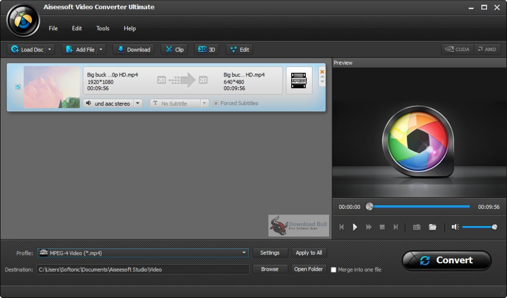 Portable Aiseesoft Video Converter Ultimate 2020 v10.1 Free Download