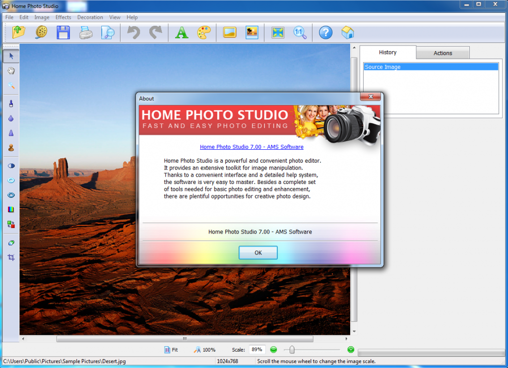 Portable AMS Home Photo Studio 17.0