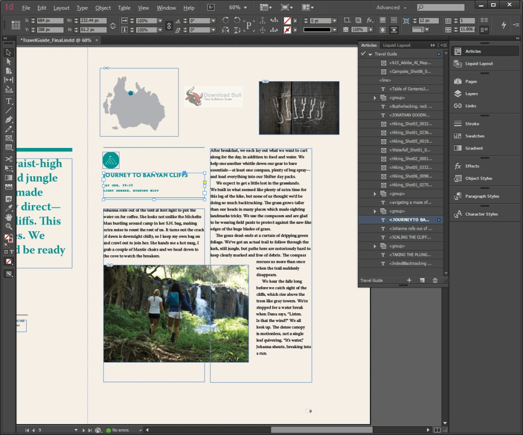 Portable Adobe InDesign 2020 v15.1.1 One-Click Download