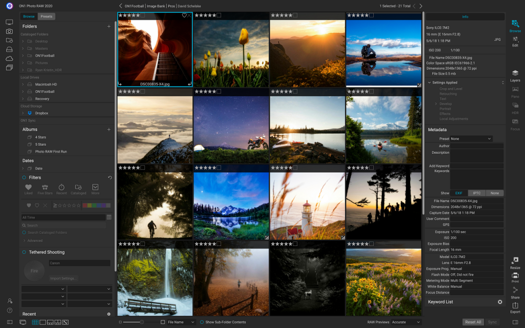 Portable ON1 Photo RAW 2020.5 v14.5 One-Click Download