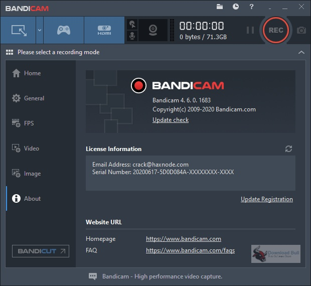 Portable Bandicam 2020 v4.6