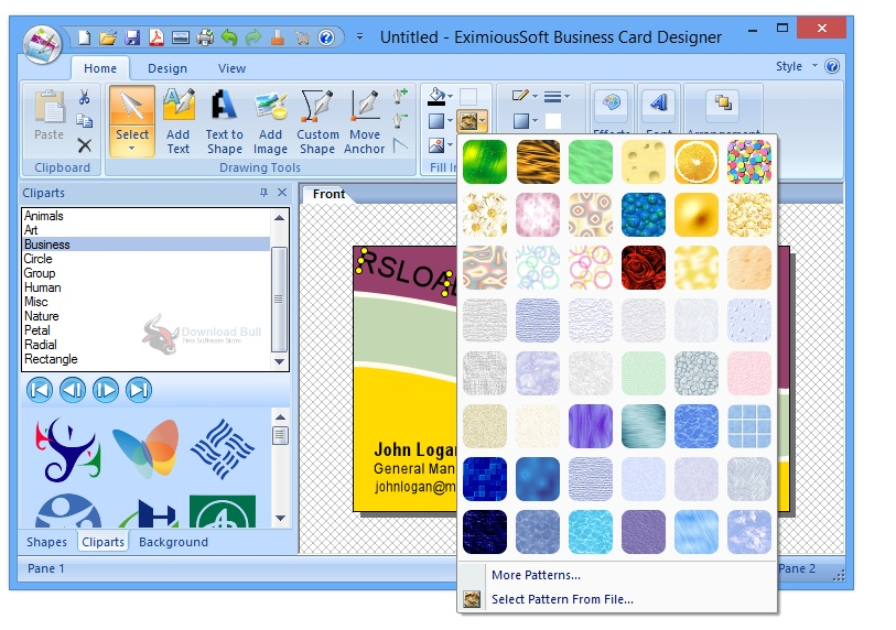 Portable EximiousSoft Business Card Designer Pro 3.31 One-Click Download