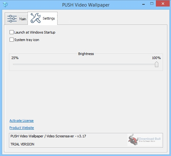 Portable PUSH Video Wallpaper 4.49 Download