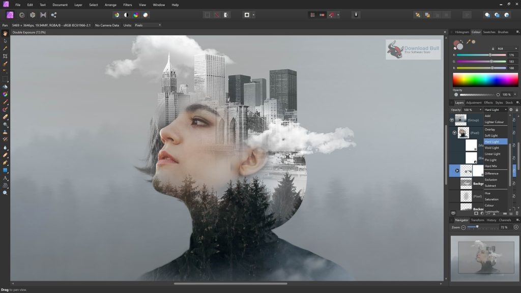 Portable Serif Affinity Photo 2020 v1.8.4 Free Download