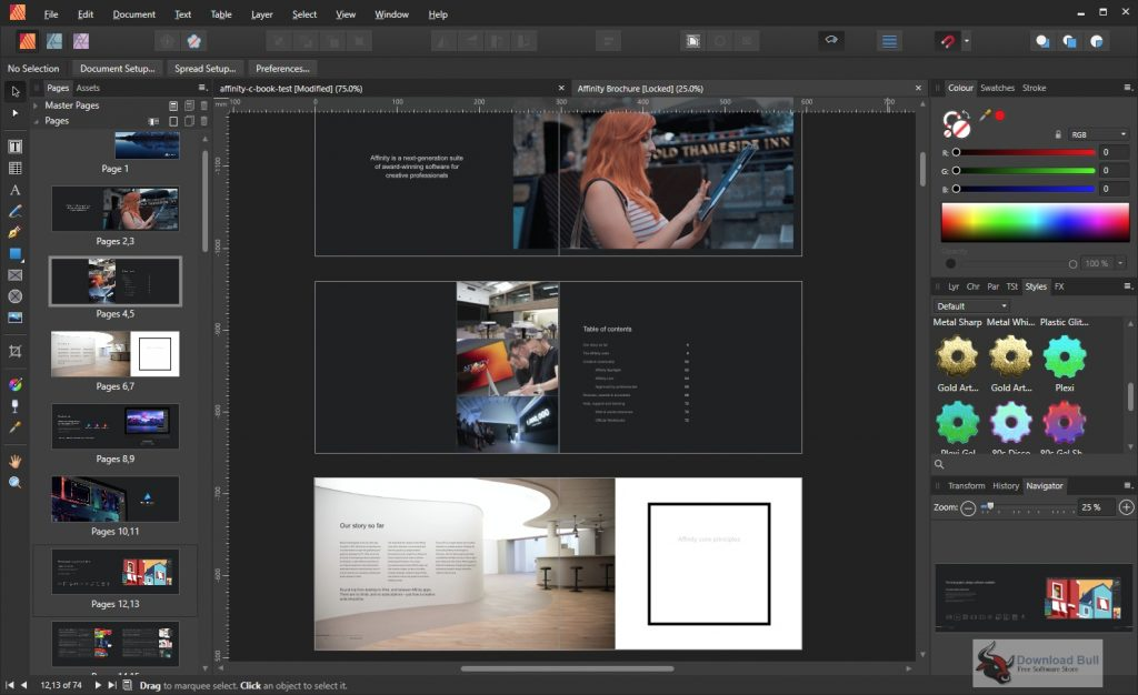 Portable Serif Affinity Publisher 2020 v1.8.4 One-Click Download
