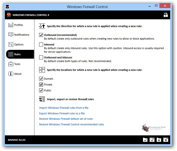 Portable Windows Firewall Control 6.4 Free Download