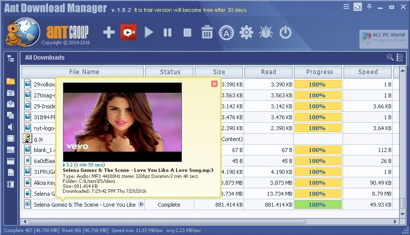Portable Ant Download Manager 2020 One-Click Download