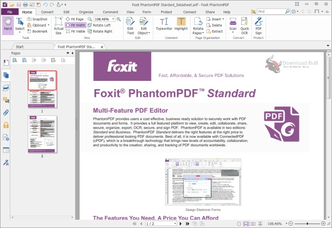 Portable Foxit PhantomPDF Business 10.1 Direct Download Link