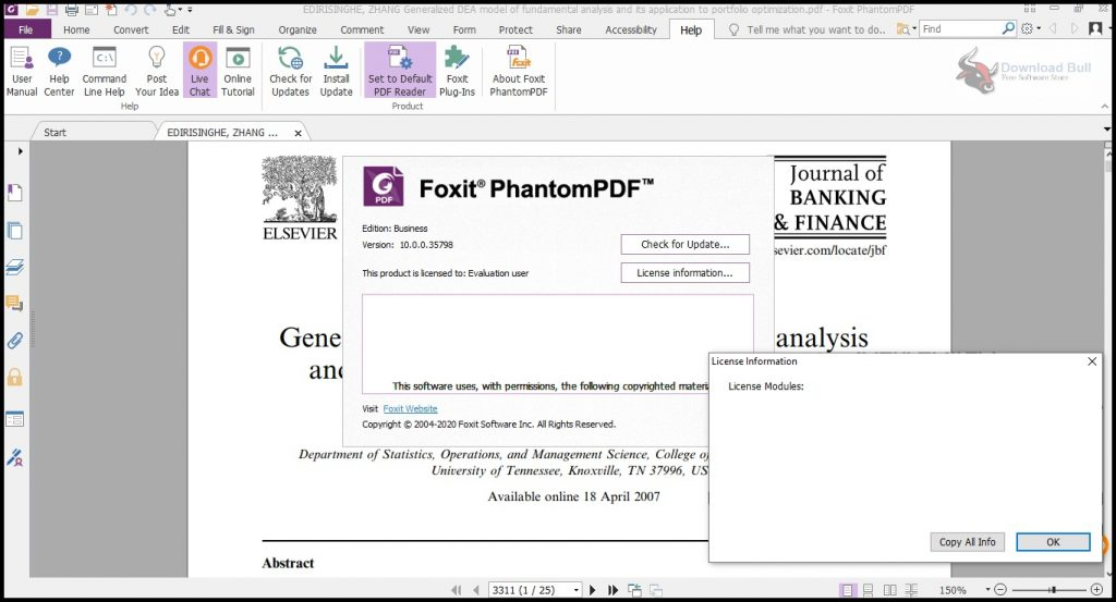 Portable Foxit PhantomPDF Business 10.1 Download