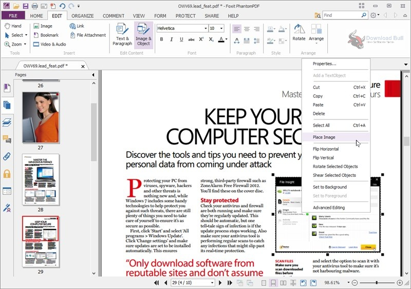 Portable Foxit PhantomPDF Business 10.1 Free Download