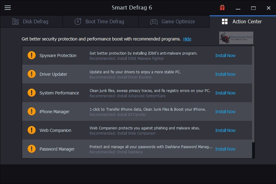 Portable IObit Smart Defrag 2020 Download