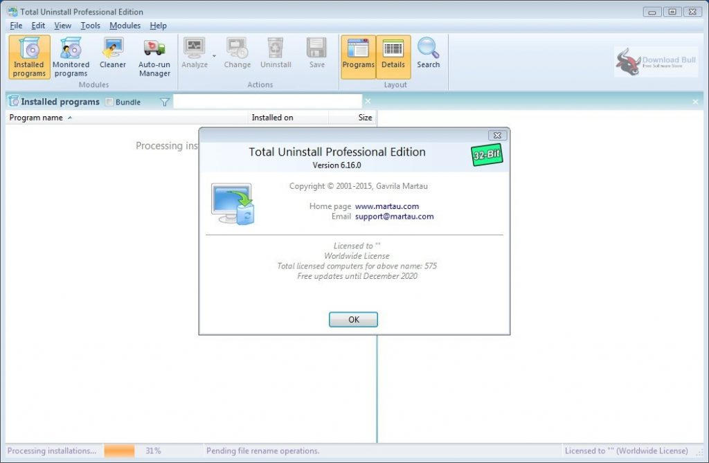 Portable Total Uninstall Pro 6.27 Direct Download Link