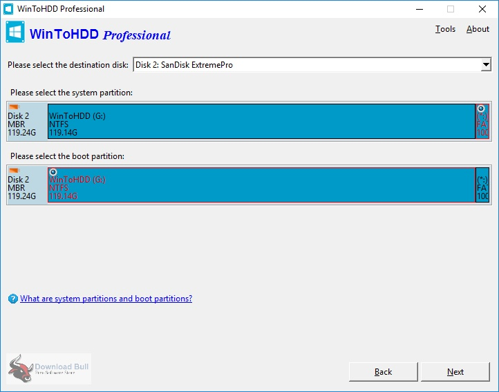 Portable WinToHDD 4.5 Technician One-Click Download