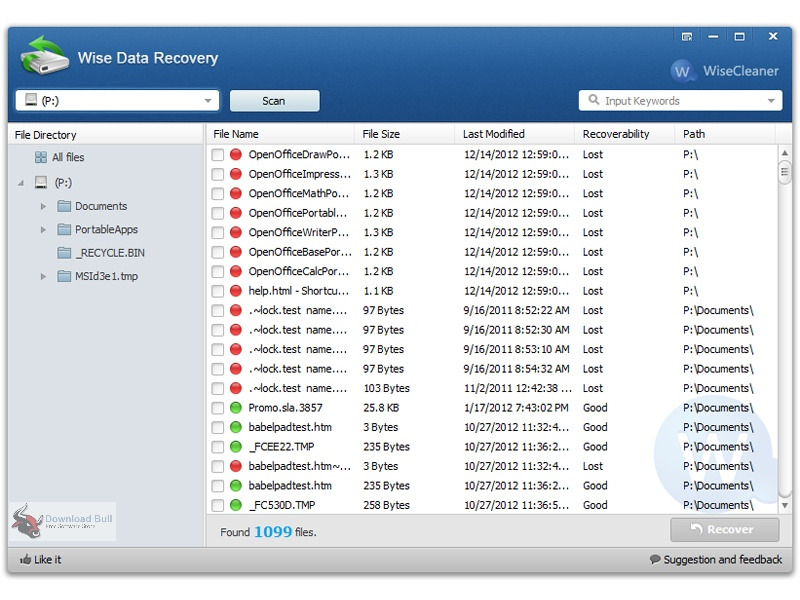 Portable Wise Data Recovery 2020 v5.1 Free Download