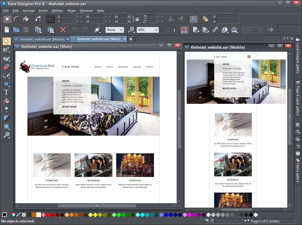 Portable Xara Designer Pro Plus 20.4 Free Download