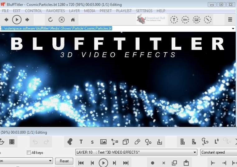 Portable BluffTitler Ultimate 15.0 One-Click Download