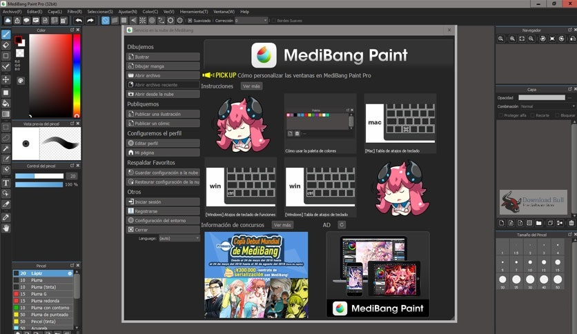 Portable MediBang Paint Pro 25.5 Direct Download Link